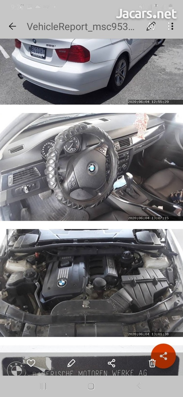 BMW 3-Series 2,9L 2011-5