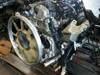 Mitsubishi Canter Fuso 4P10 Engine scrapping