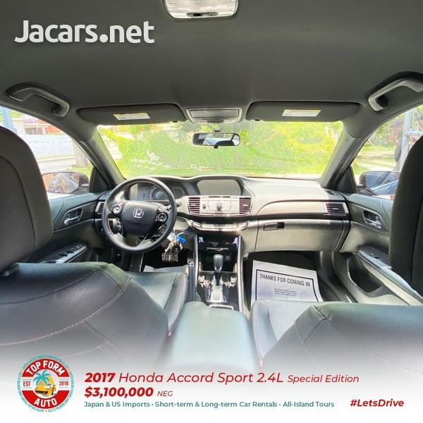 Honda Accord 2,4L 2017-9