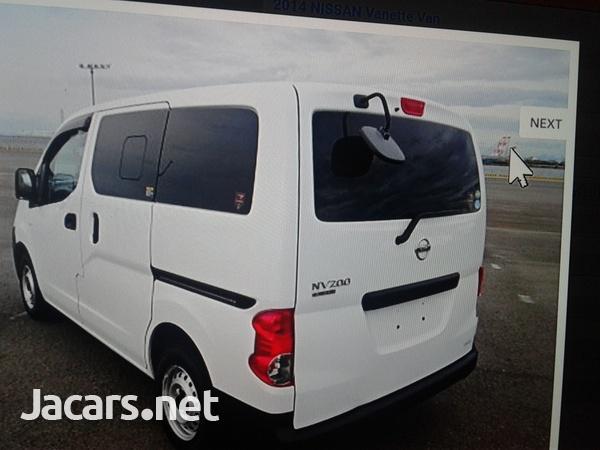 Nissan vanette 1,6L 2014-7
