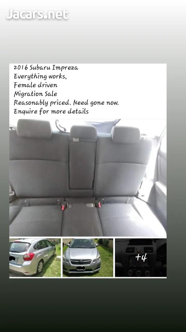 Subaru Impreza 1,5L 2016-1