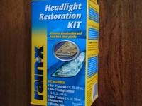 RainX Headlight Restoration Kit