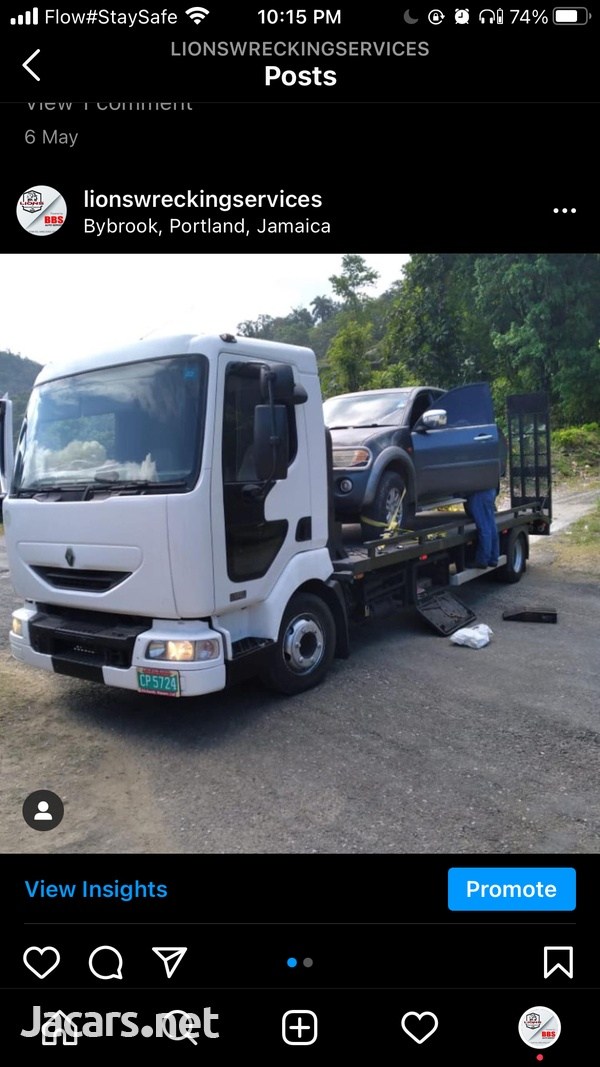 2004 Renault Flatbed Tow Truck-3