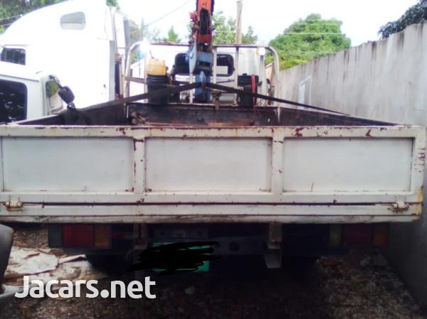 1997 Isuzu Elf Dropside 2 Stage Crane Truck-1