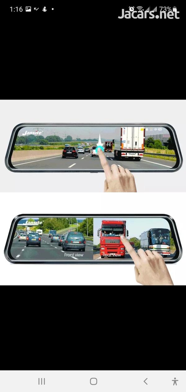 10inch Touch Screen Google Dash Cam-2