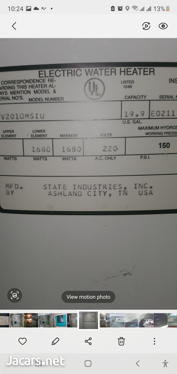 30G wATER HEATER USED-4