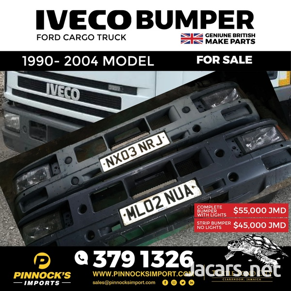 IVECO BUMPERS 1990 - 2004 MODEL