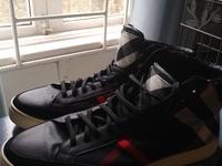 Burberry hightop sneakers