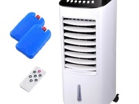 Portable Air Cooling Fan 7L, Humidifier W/Remote