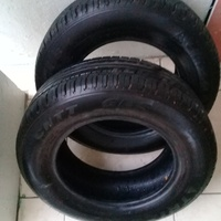 Almost new 185/70/14 Tyres
