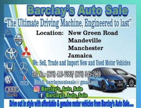 Barclays Auto Sale