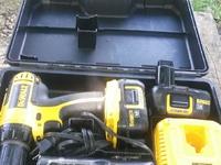 used dewalt battery drill