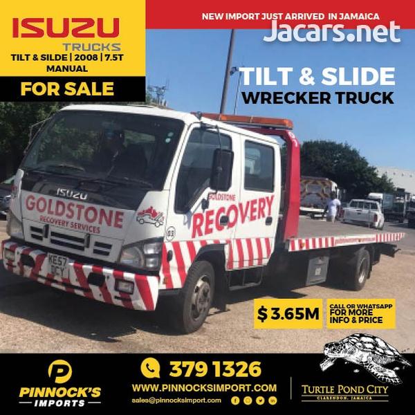 2008 Isuzu Tilt And Slide Wrecker 7.5t Truck-1