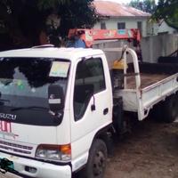 Isuzu Elf Dropside 2Stage Crane Truck