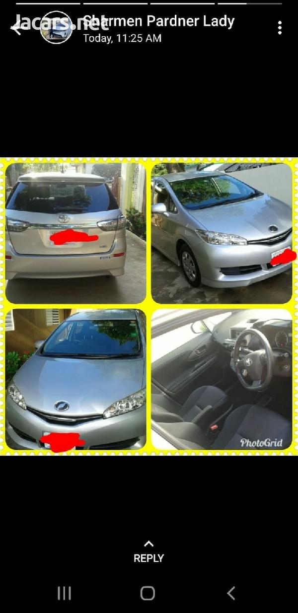Toyota Wish 1,3L 2012
