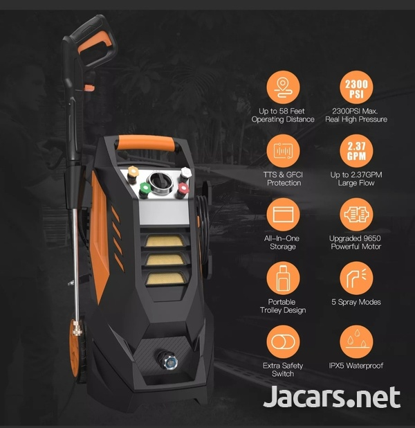 Famistar Max 2300PSI Pressure Washer Electric 1800W High Pressure Power Washer C-5