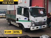 2010 Isuzu Tipper Truck