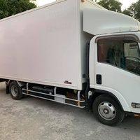 Isuzu Box Body Truck 4,0L 2012