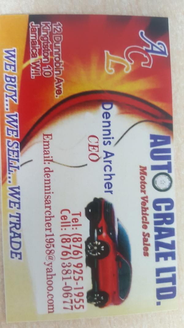 Auto Craze Ltd.