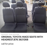 WE BUILD AND INSTALL BUS SEATS FOR TOYOTA HIACE AND NISSAN.876 3621268