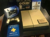 Gold Sony PS4 Bundle