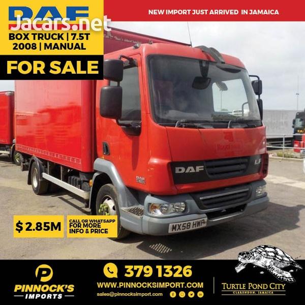 DAF Box Truck 7.5T 2008-1