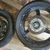 2012 HONDA CBR600RR FRONT & REAR WHEELS