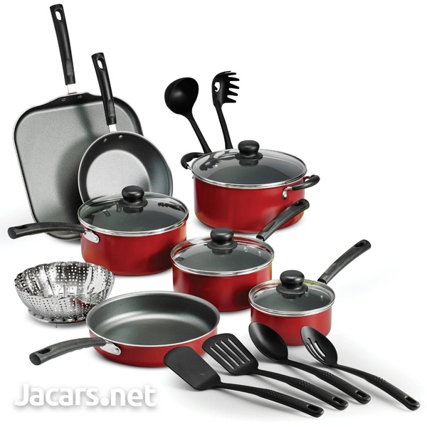 18 piece Pot Set and 9 piece Cookware Pot Set and many other items andTools etc.-2