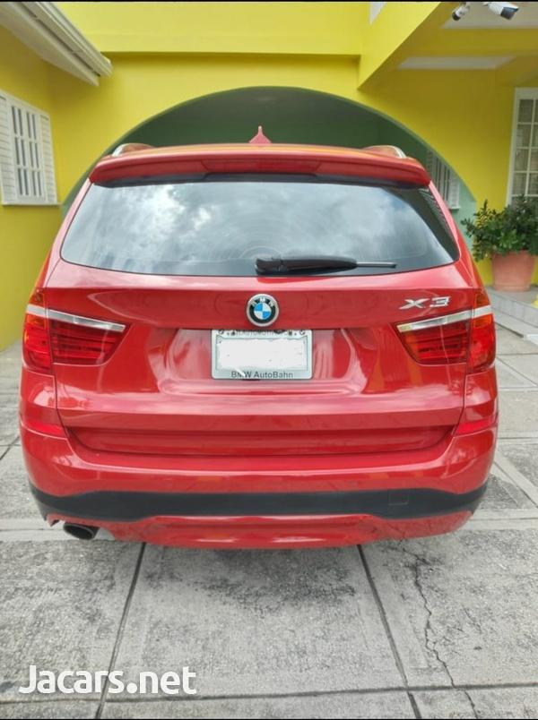 BMW X3 2,0L 2017-2