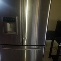 Fairly new 3 door fridge