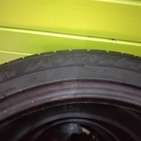 20'' Staggered Tyres