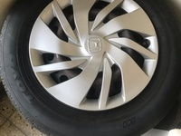 Stock Rims And Hubcaps For Honda Fit 2014-up