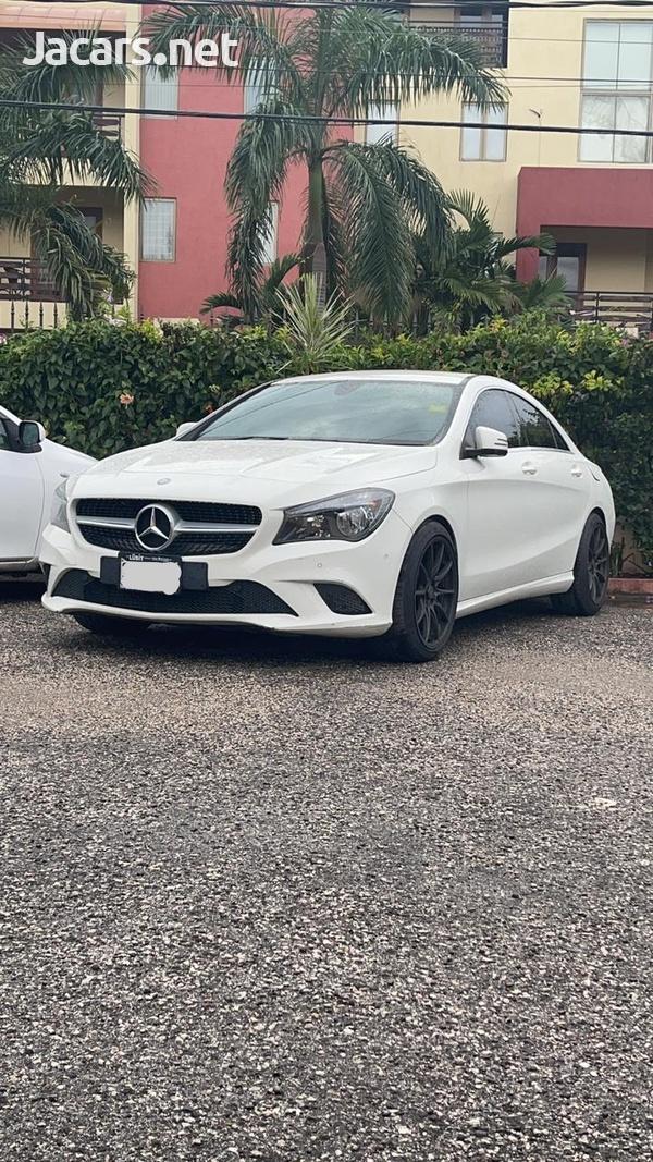Mercedes-Benz CLA-Class 1,6L 2016-2