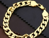 Gold and Silver hand bracelets