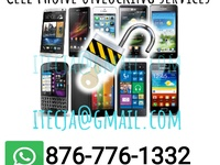Cell phone unlocking services