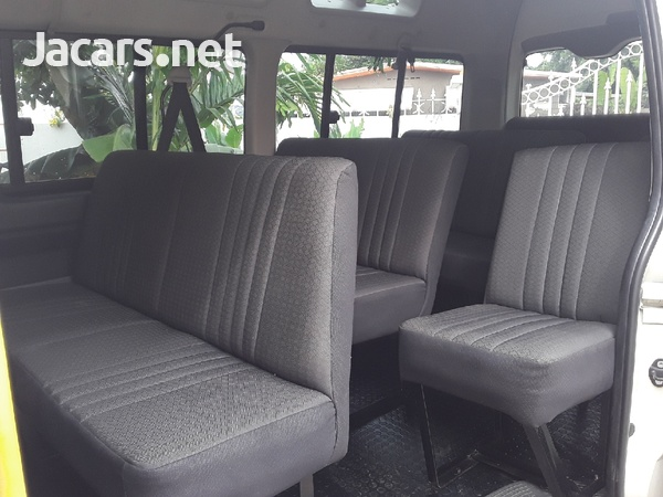 HAVE YOUR BUS FULLY SEATED WITH FOUR ROWS OF SEATS.