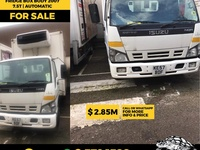 Isuzu Fridge Box Body 2007 7.5T Automatic