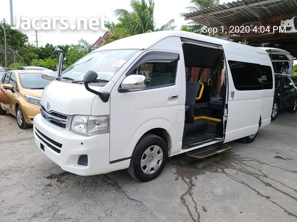 2010 TOYOTA Hiace GL Commuter Bus-2