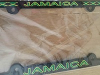 Jamaica License Plates