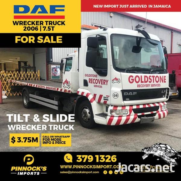 DAF Wrecker Truck 7.5T 2006-1