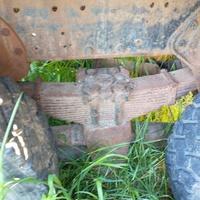 Super 40 rear end. Heavy duty suspension