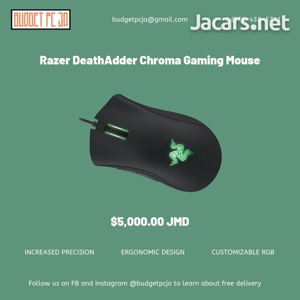 Razer DeathAdder Chroma RGB Gaming Mouse-1