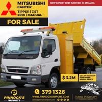 2010 Mitsubishi Canter Tipper 7.5T Truck