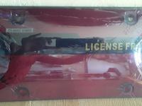 license Plate Protector smoke