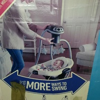 Baby sleep swing
