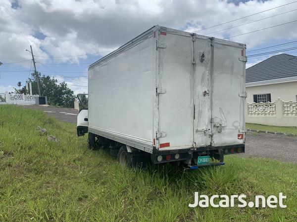 Crashed BOX TRUCK-1