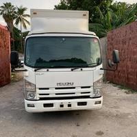 Isuzu Box Body Truck 4,0L 2012
