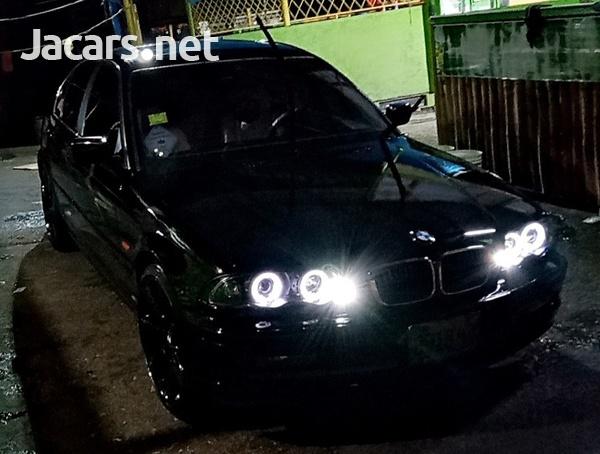 BMW 3-Series 2,5L 2001-2