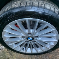 BMW 3-series 17 inch stock wheels with fairly new tires 225/45/17