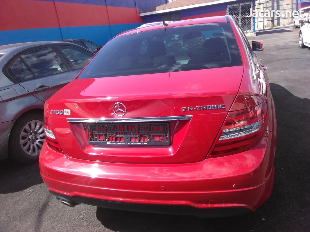 Mercedes-Benz C-Class 1,6L 2013-3